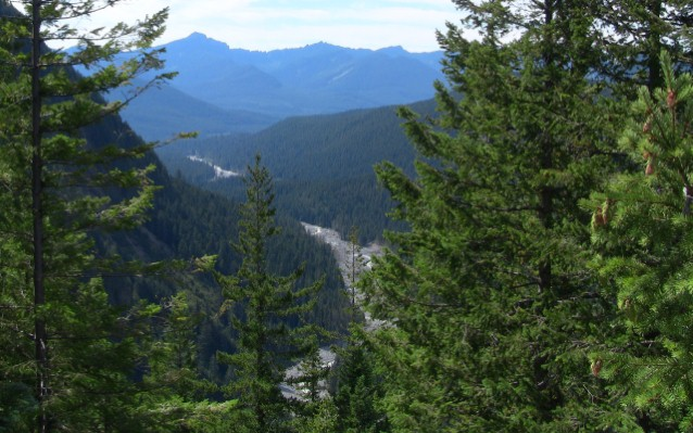 View from Mt Rainier National Park (Preview)