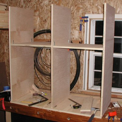 Simple Wooden Entertainment Center with Lots of Shelves - Pete Brown's 10rem.net