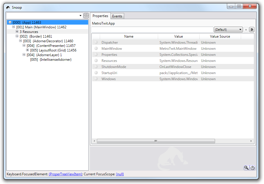 How'd they build that? Using Snoop and WPF Inspector to peek inside