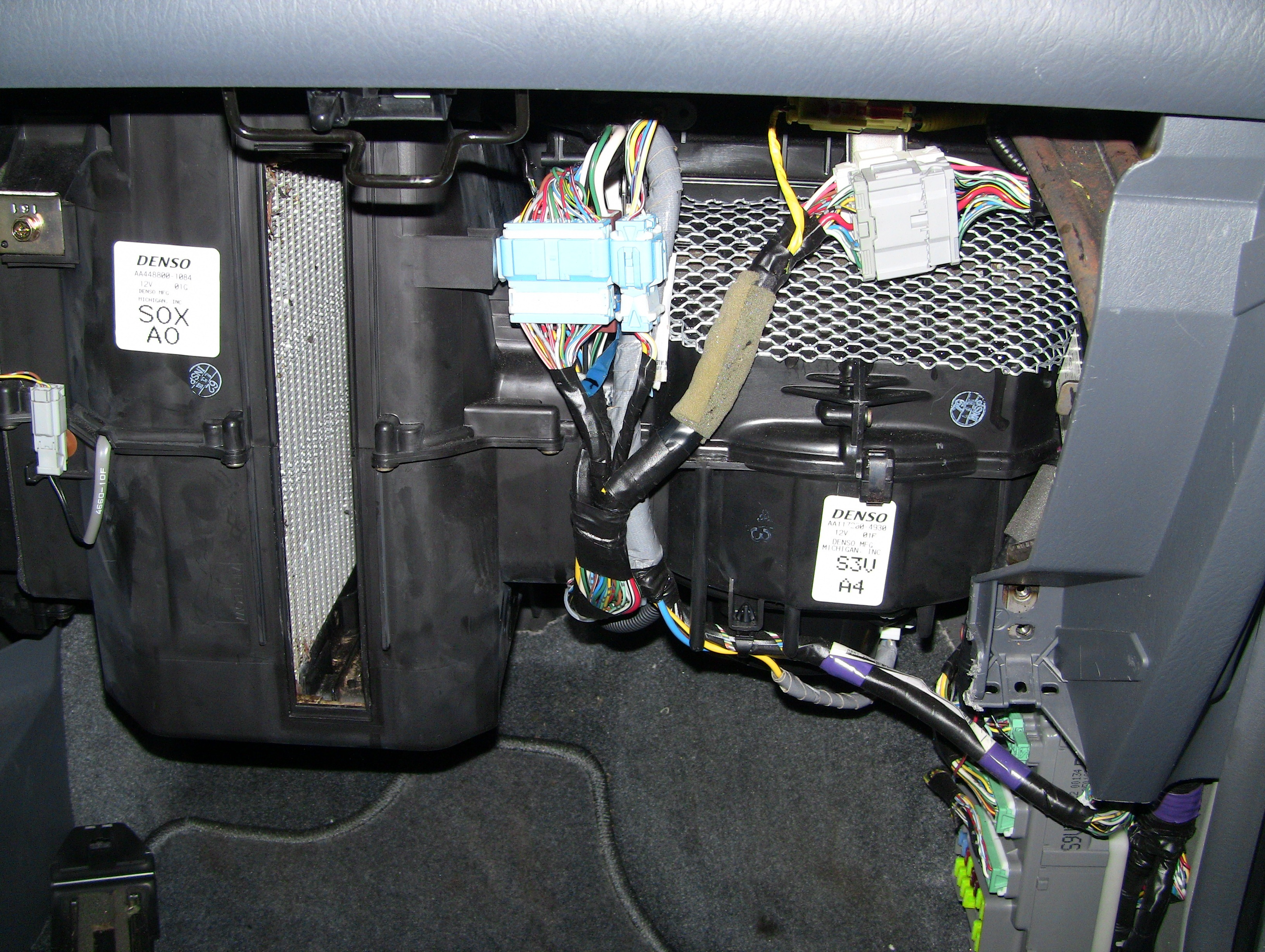 More On The Mice In My Honda Pilot Pete Browns Insulation Around Electrical Wiring Repairs Youtube Img 2495 2499 2506