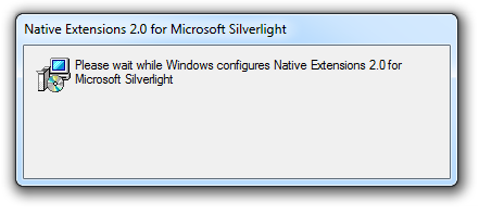 Lighting up on Windows 7 with Native Extensions for