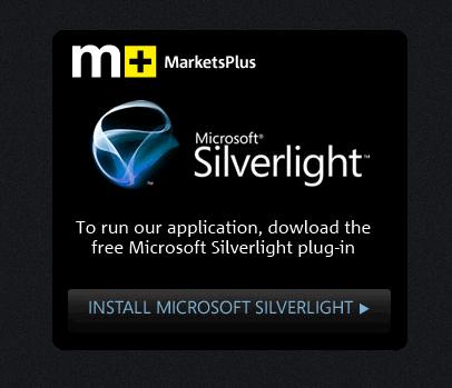 MarketsPlus Evolve: UX Inspiration from a Great Silverlight