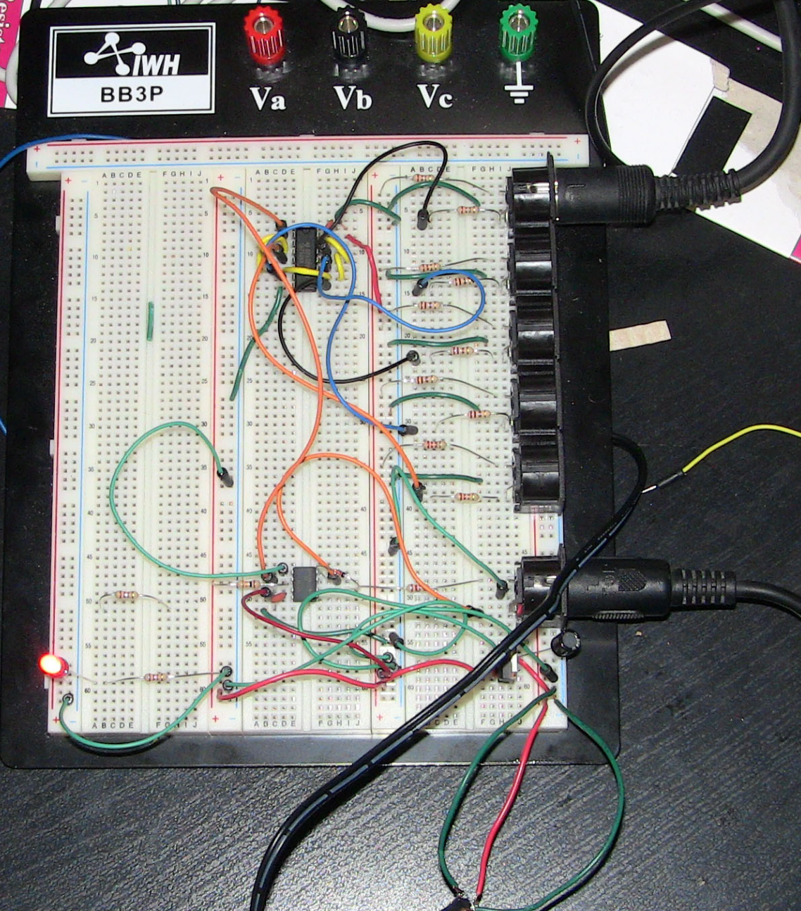 Building A Midi Thru Box Part 5 Circuit Board Assembly And Final Build Images Of Image