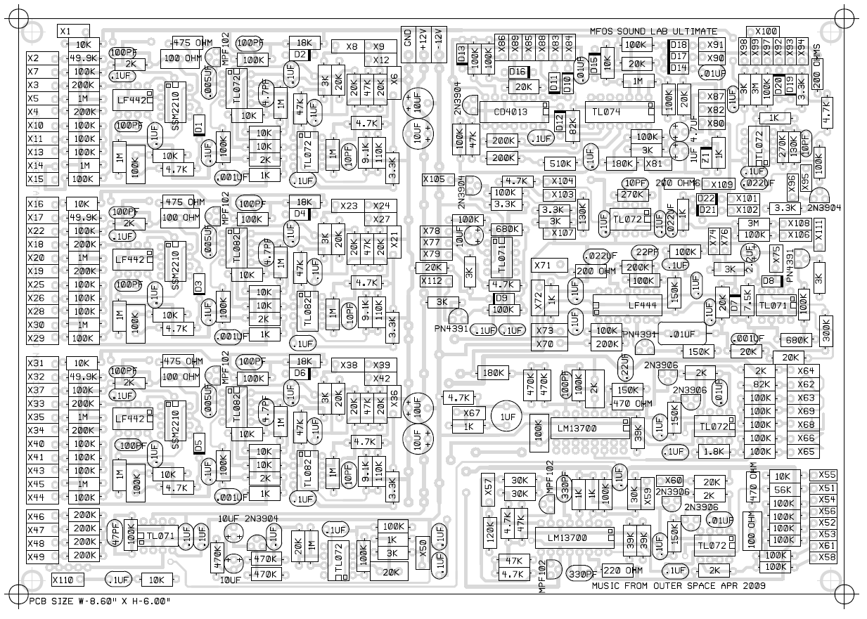 Complex Circuit Board The circuit board looks