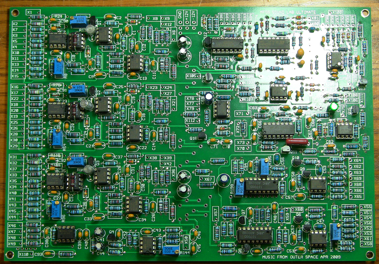 Mfos Synth 6 Pcb Complete Pete Browns 101 How To Build A Circuit Board Image