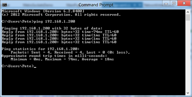 Udp echo server client chat