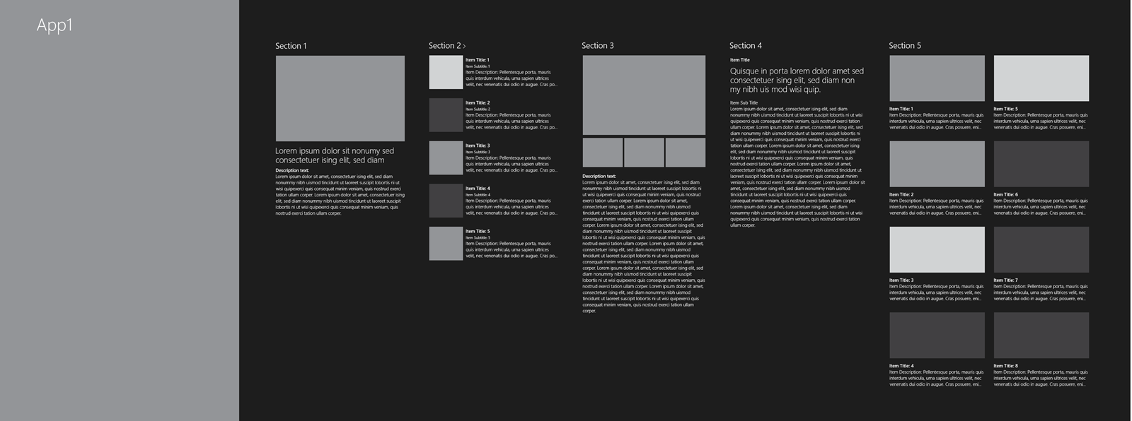 Designing the hub experience for Windows Store creative (art, music ...
