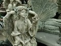 Angel Statue with Bird in Hand (Thumbnail)