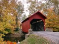 Roddy Road Covered Bridge in Autumn (Thumbnail)