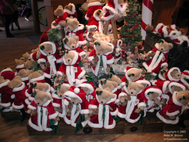 Boyds Christmas Bears (Preview)