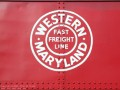 Western Maryland Railway Caboose 1826 Herald Color (Thumbnail)