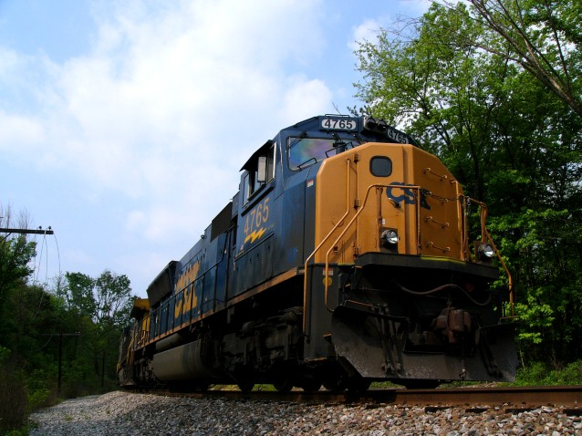 CSX 4765 in Cumberland, Maryland (Preview)