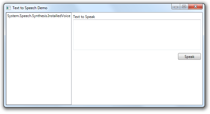 Using Speech Synthesis in  NET 4 and Windows 7 - Pete Brown's 10rem net