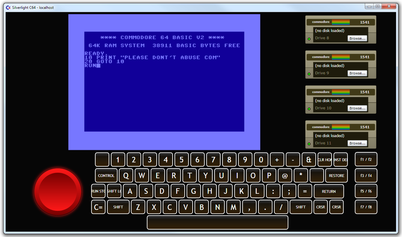 c64 emulator windows 10 phone