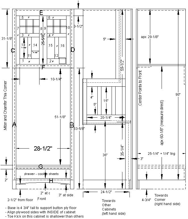 Woodwork Plans For Oven Cabinet PDF Plans