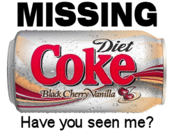 What Happened to Black Cherry Vanilla Diet Coke? - Pete Brown's 10rem.net