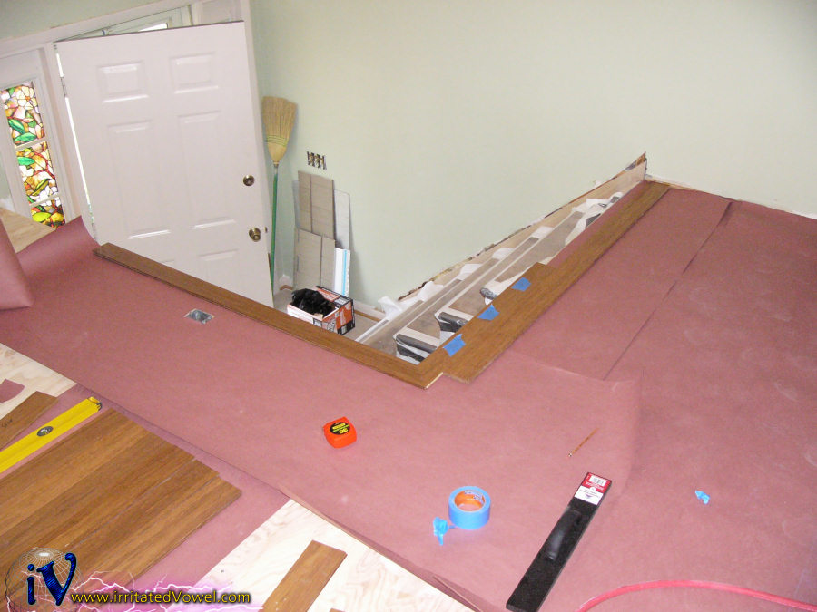 Installing strand bamboo flooring pete brown 39 s for Installing bamboo flooring