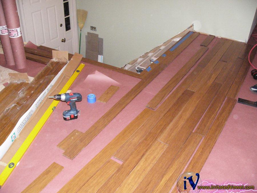 Top nailing bamboo flooring nail ftempo for How to install nail down bamboo flooring