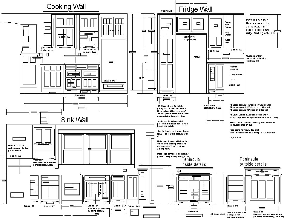 Latest Kitchen Plans - Pete Brown's 10rem.