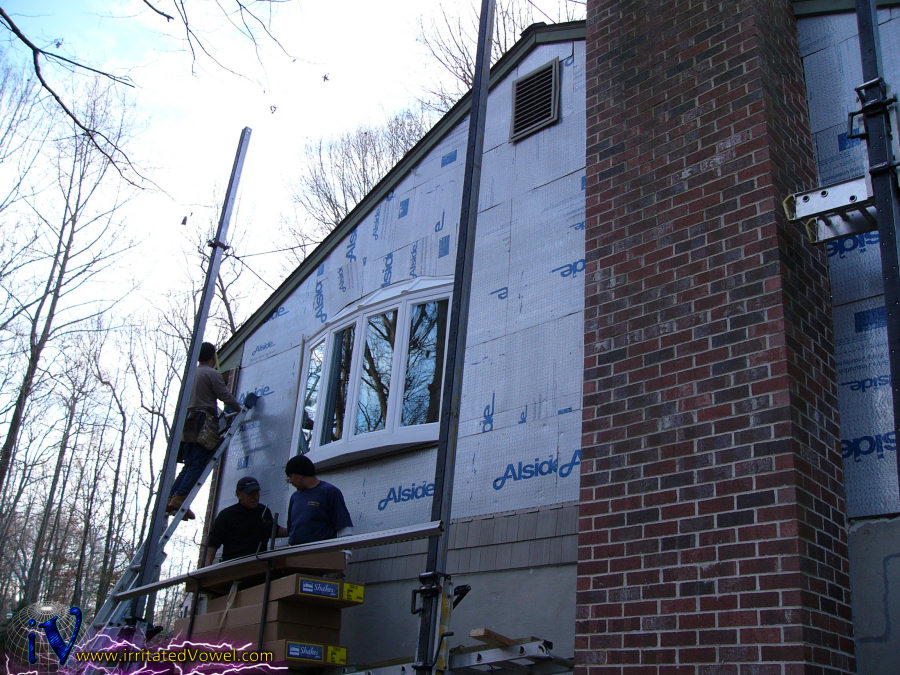 Renovation Update - Siding and Drywall - Pete Brown's 10rem net