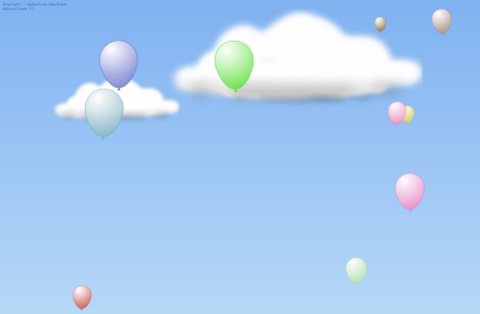 Silverlight Balloons Version 3